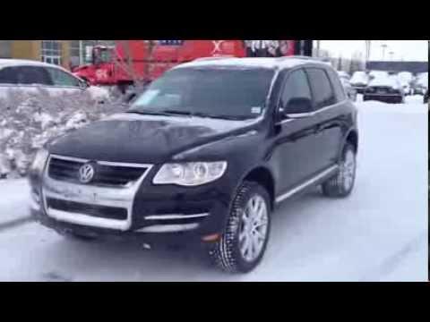 pre owned  volkswagen touareg  vr calgary youtube