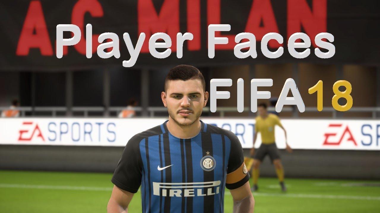 Fifa 18 inter milan player faces youtube for Fifa 17 milan