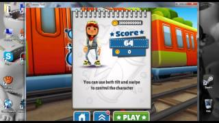 Cheat Engine 6.3 - Subway Surfers on PC /Unlimited Coins/