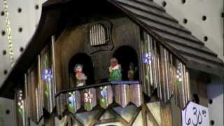 Listen: The Relaxing Sound Of Various Cuckoo Clocks
