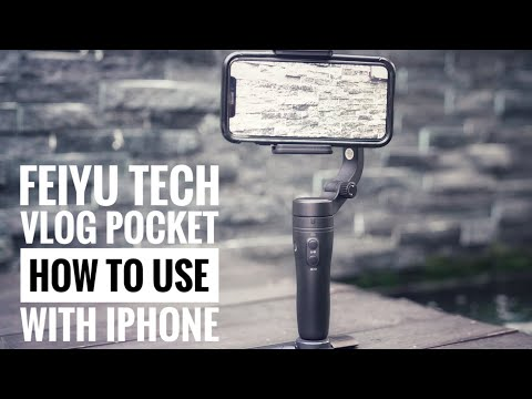 Feiyu Tech Vlog Pocket - How to use it with the Iphone ( Review + Video Samples)