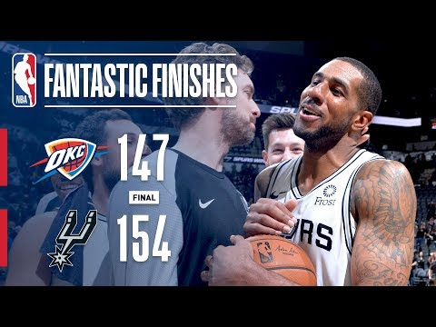 Thunder and Spurs EPIC Double-Overtime Thriller | January 10, 2019