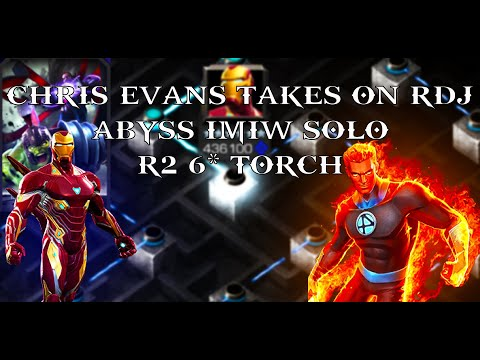 Human Torch Solo Abyss IMIW | Abyss Of Legends | Marvel Contest Of Champions