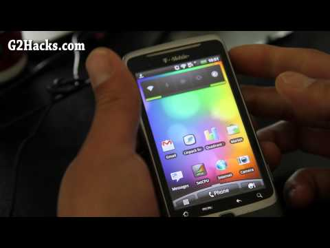 How to Install Desire Z HBOOT Bootloader on G2 Phone!