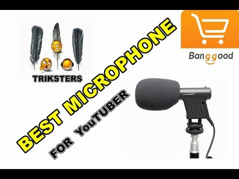 BEST MICROPHONE for youtubers