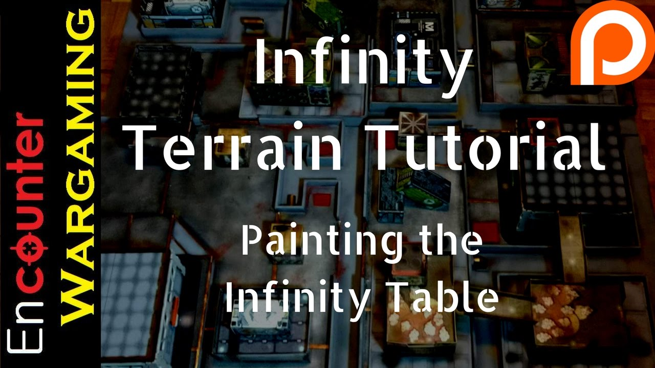 infinity terrain tutorial - painting infinity table - patreon only