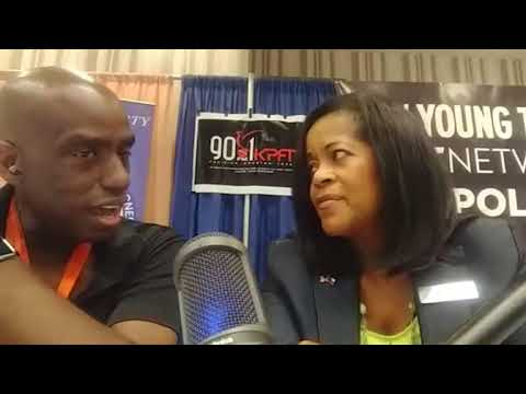 Interview with Brand New Congress candidate Adrienne Bell at Netroots Nation 2017