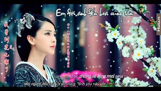 (Kara+Vietsub) Em đợi anh đến hoa cũng tàn - 我等到花儿也谢了 - A-Lin