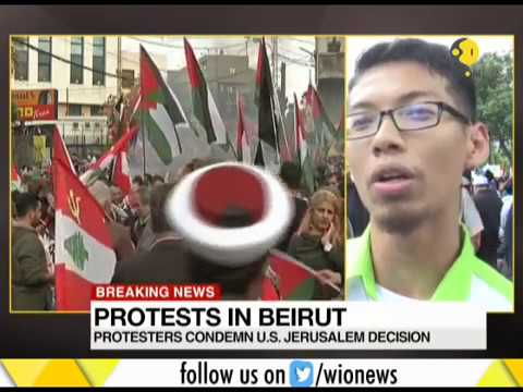 Breaking News: Protest in Beirut