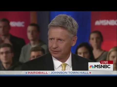 Gary Johnson A Wasted Vote - Bill Maher