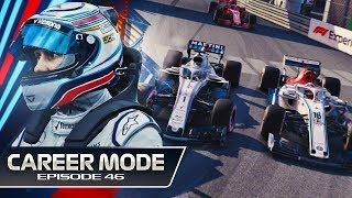 F1 2018 Career Mode Part 46: MONACO