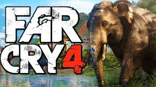 Far Cry 4 Funny Moments (Riding an Elephant, Hunting Rare Demon Fish) Thumbnail