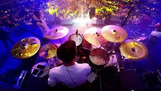 Dorian Popa feat. Ioana Ignat - Cand lumea e rea Live (drum cam)
