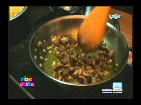 Adobo Pasta With Black Olives
