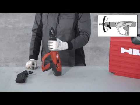 Hilti DX 460 Change from Single to Magazine Fastener Guide - a Hilti how-to-video
