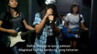 Prinsesa -The Teeth (Studio Jamming with Lyrics)