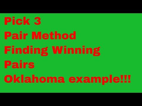 Oklahoma Pick 3 >> Finding Winning Pairs To Play Using Pick 3 Pair Method Oklahoma