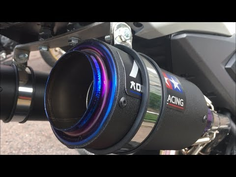 Honda Grom/MSX Dual Exhaust | INSANE SOUND | Double AR Mini Exhaust