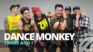 Download DANCE MONKEY by Tones And I | Zumba | Pop | TML Crew Fritz Tibay Mp3 and Videos