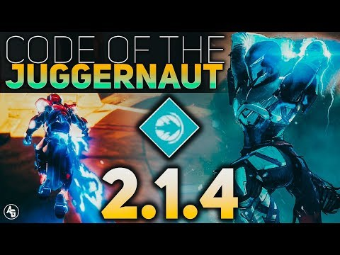 Code of the Juggernaut MAJOR BUFF (Sandbox 2.1.4) | Destiny 2 Sandbox 2.1.4 thumbnail