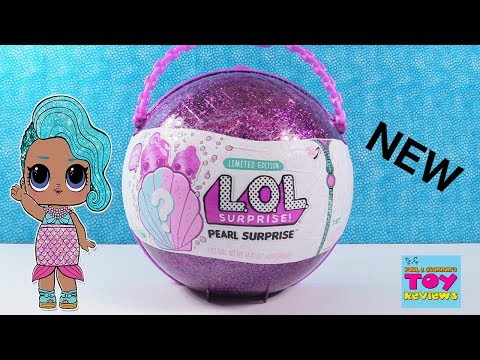 LOL Surprise Doll Pearl Limited Edition Purple Toy Opening Review   PSToyReviews