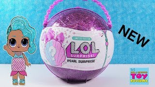 LOL Surprise Doll Pearl Limited Edition Purple Toy Opening Review | PSToyReviews