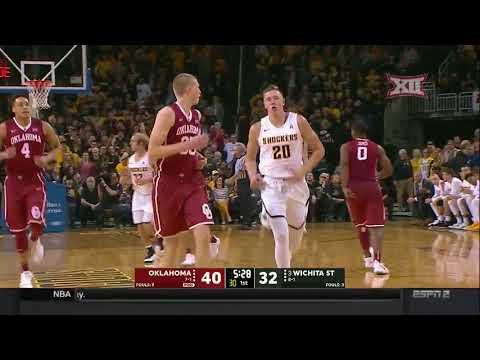 Download Youtube: Oklahoma vs. Wichita State Men's Basketball Highlights
