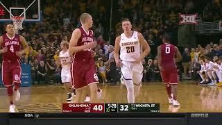 Oklahoma vs. Wichita State Men's Basketball Highlights