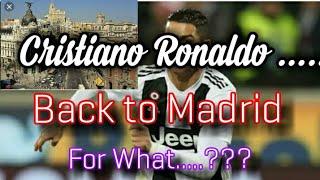 Ronaldo Wajib Datang Ke Madrid Usai Laga lawan Chievo Nanti - Kenapa......?