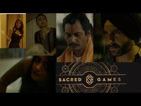 Sacred game   Netflix movie   nawazuddin siddiqui, saif ali khan, radhika  apte   Ads dekho