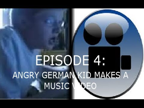 AGK Ep 4 Angry German Kid Makes A Music Video