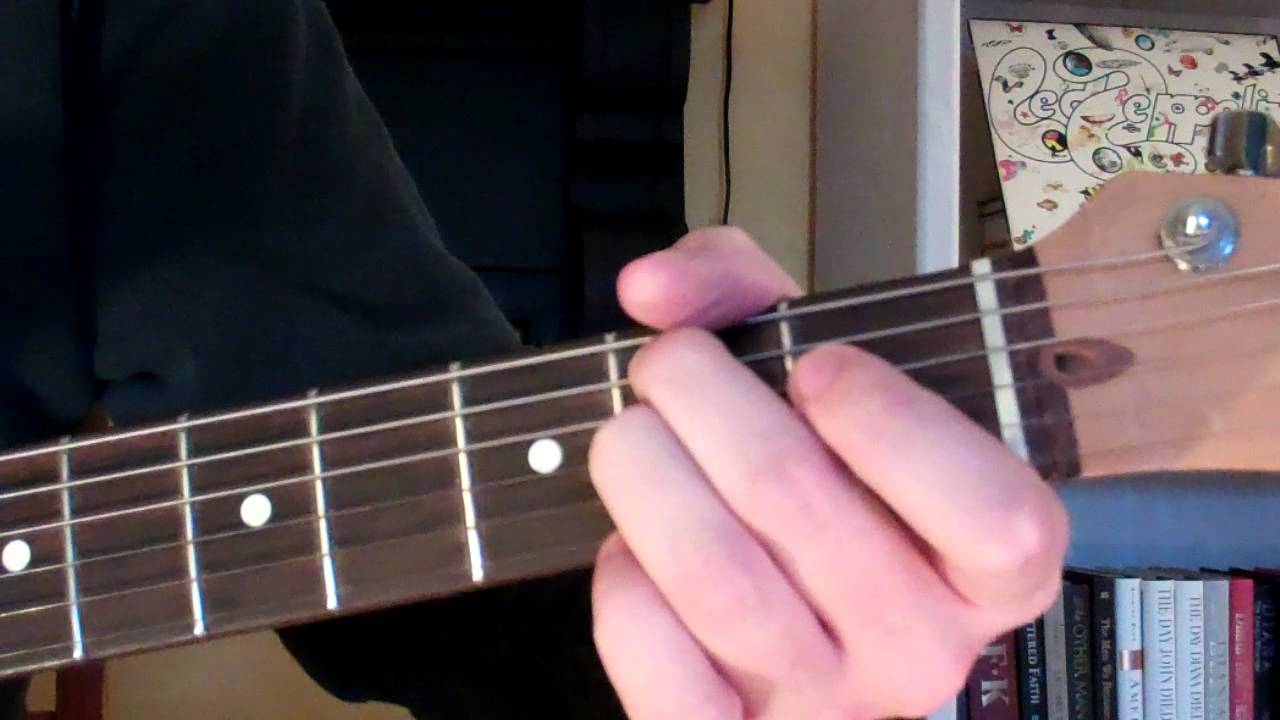 how to play the bm7 chord on guitar b minor seventh youtube