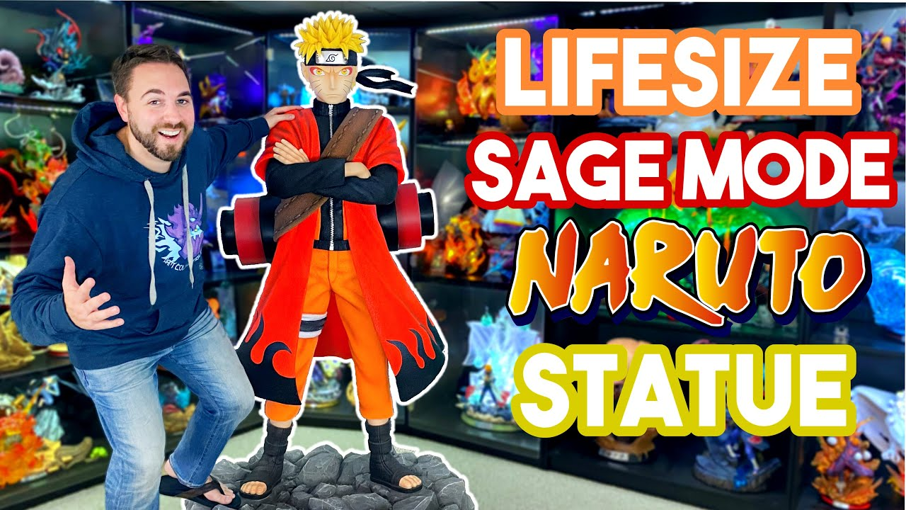 200,000 SUB SPECIAL! 🥳 Unboxing the $4,000 LIFESIZE Sage Mode Naruto Statue by YaYa Studio