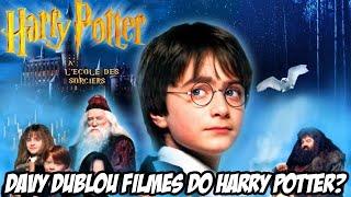 Davy dublou Filmes do Harry Potter?