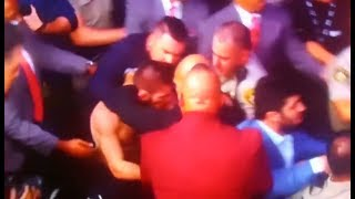 BRAWL After Match of Conor McGregor vs Khabib Nurmagomedov FIGHT SCUFFLE