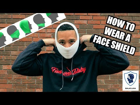 How To Wear A Face Shield For Fishing