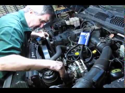 atlantic british presents: serpentine belt replacement on range rover 4 0  or 4 6 (p38)
