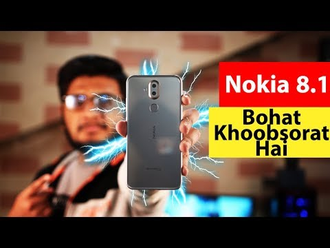 Nokia 8.1 Unboxing & First Look !