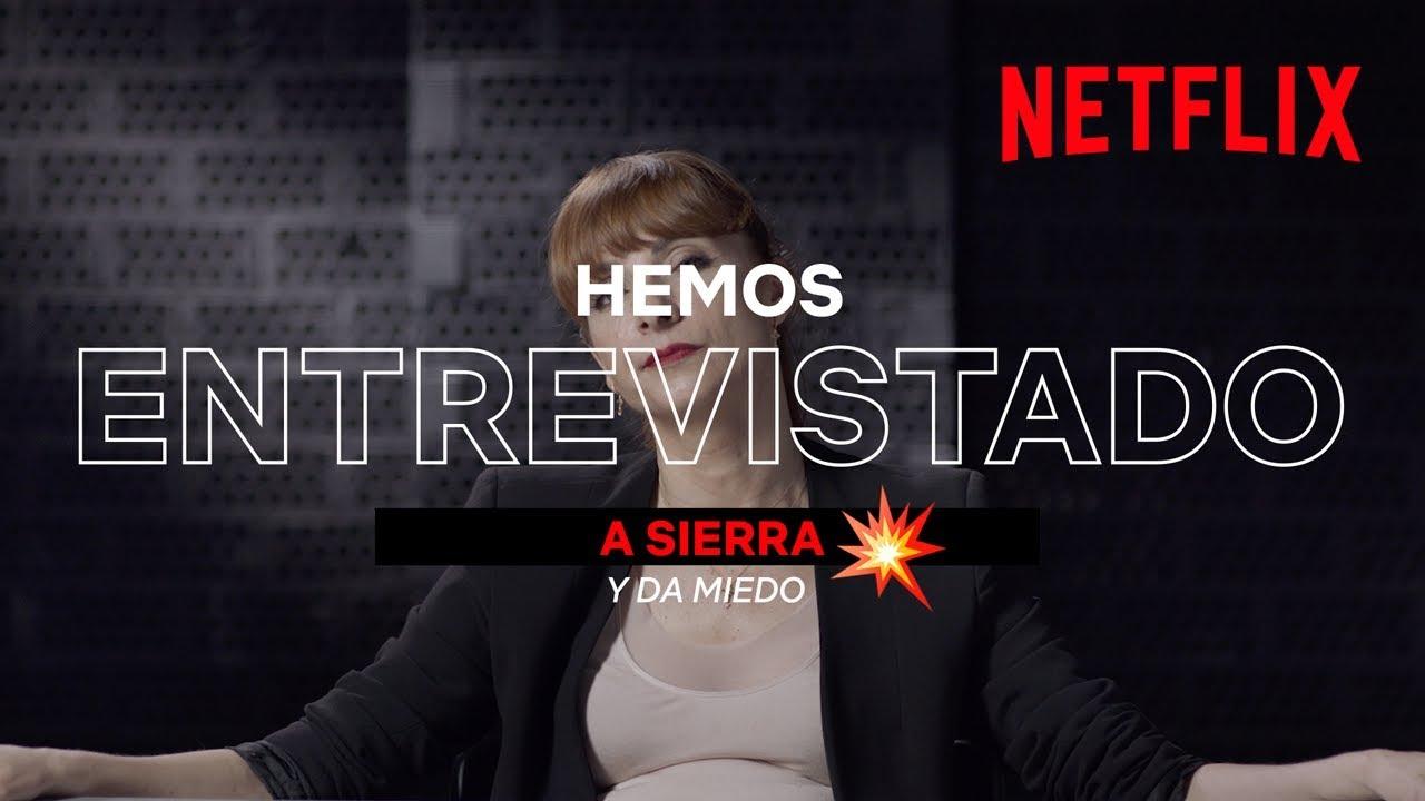 Entrevista a la inspectora Sierra | La Casa de Papel | Netflix