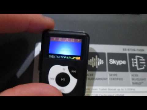 GEARBEST-Portable Apple Shaped Small Digital MP3 Player