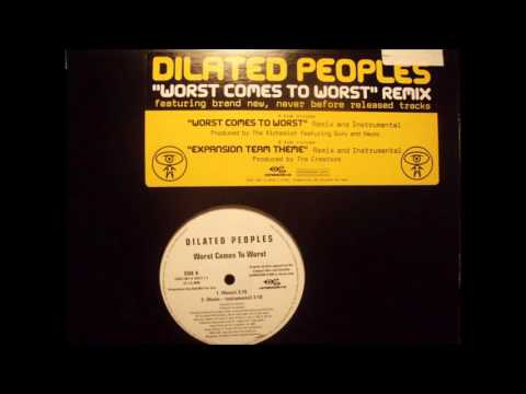 Dilated Peoples  Worst Comes To Worst Remix Instrumental