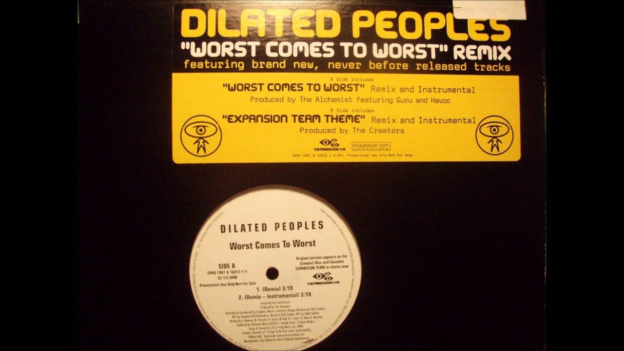 Dilated Peoples - Worst Comes To Worst (Remix Instrumental) - YouTube