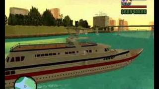 grand theft auto san andreas vice city mod yacht driving