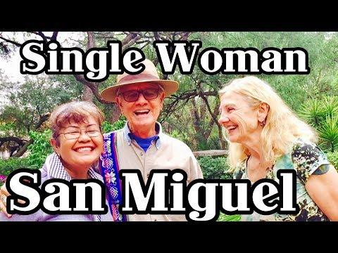 Single Women retires in San Miguel ,Queretaro, Guanajuato:: social security