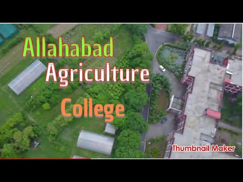 Dji mavic pro fly over shuats campus/allahabad/india/photofactory