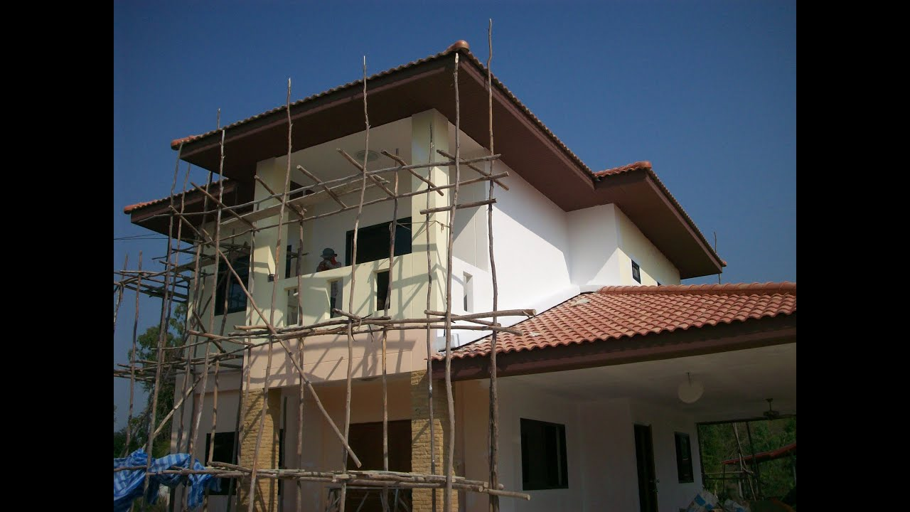 Building A House In Rural Thailand
