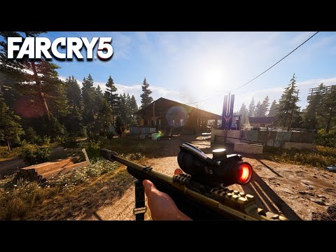 Far Cry 5 Aggressive Stealth (Outpost Liberation)