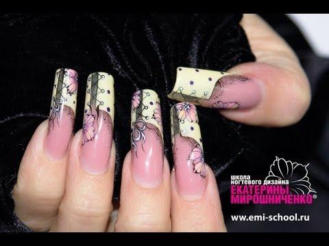 дизайн ногтей е мирошниченко: