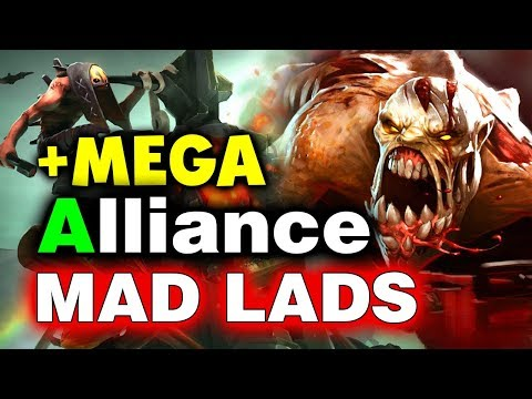 ALLIANCE vs MAD LADS - 92 Min + MEGAS - GESC Thailand Minor DOTA 2