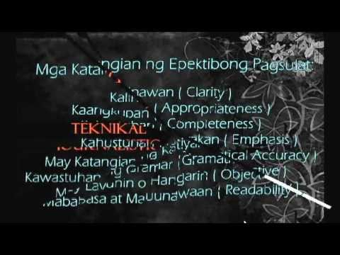 composition writing filipino